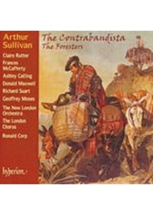 Arthur Sullivan - The Contrabandista, The Foresters (Corp, New London Orch) (Music CD)