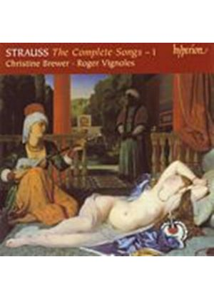 Richard Strauss - The Complete Songs - 1 (Brewer, Vignoles) (Music CD)