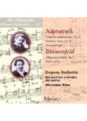 Blumenfeld; Nápravník: Works for Piano and Orchestra