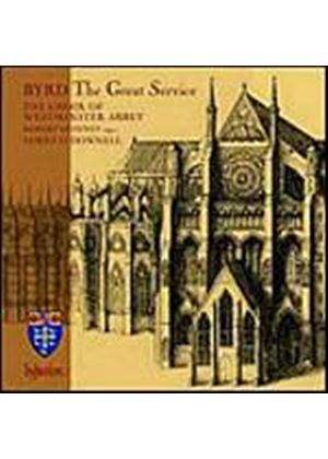 William Byrd - The Great Service (ODonnell, Choir Of Westminster Abbey) (Music CD)