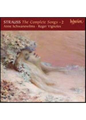 Richard Strauss - The Complete Songs - 2 (Schwanewilms, Vignoles) (Music CD)
