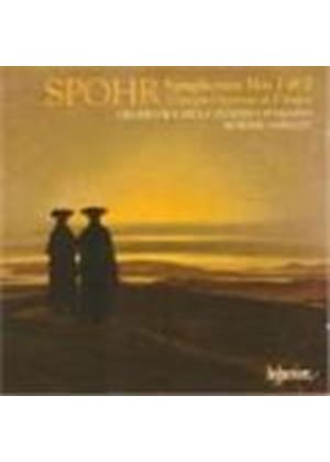 Louis Spohr - Symphonies Nos. 1 And 2 (Orchestra Della Svizzera Italiana) (Music CD)
