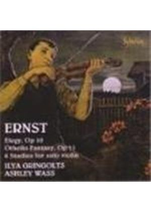 Heinrich William Ernst - Violin Music (Gringolts, Wass) (Music CD)