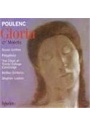Francis Poulenc - Gloria And Motets (Layton, The Choir Of Trinity College) (Music CD)