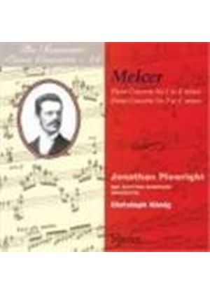 Henryk Melcer - Piano Concertos Nos. 1 And 2 (Konig, BBC Scottish SO) (Music CD)
