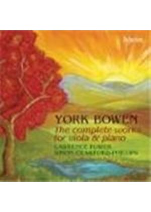 Bowen: Viola and Piano Works