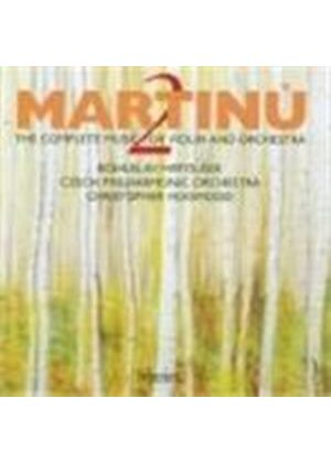 Bohuslav Martinu - The Complete Music For Violin And Orchestra 2 (Hogwood) (Music CD)
