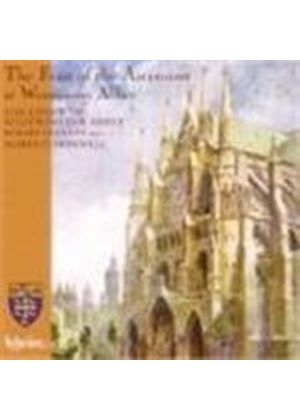 Various Composers - The Feast Of The Ascension At Wesminster Abbey (Music CD)