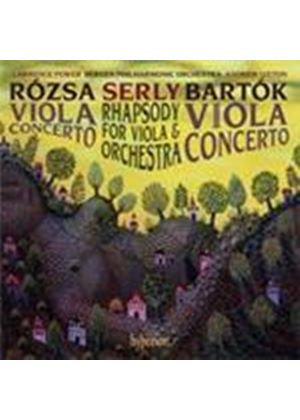 Bartók; Rózsa; Serly: Viola Concertos (Music CD)
