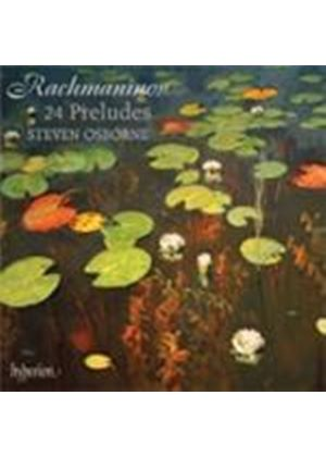 Rachmaninov: (24) Preludes (Music CD)