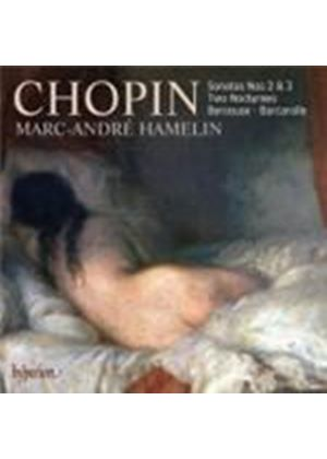 Chopin: Piano Sonatas Nos 2 & 3 (Music CD)
