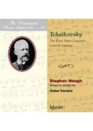 Tchaikovsky: Piano Concertos Nos 1 - 3 (Music CD)