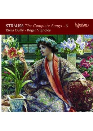 Strauss: The Complete Songs, Vol. 5 (Music CD)