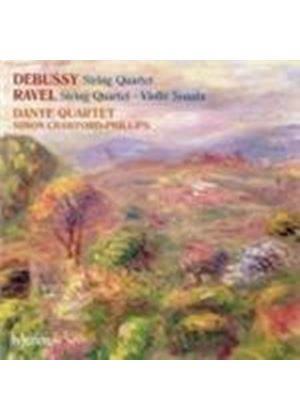 Debussy: String Quartet; Ravel: String Quartet; Violin Sonata (Music CD)