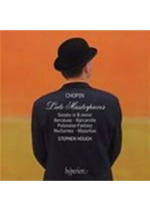 Chopin: Late Masterpieces (Music CD)