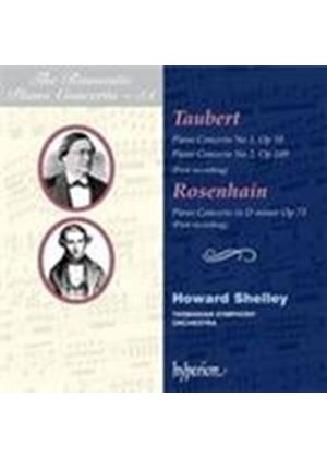 Rosenhain; Taubert - Romantic Piano Concerto, Vol 51 (Music CD)