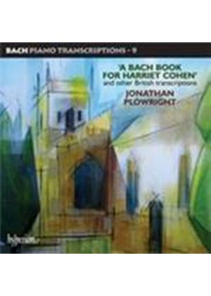 Bach: Piano Transcriptions, Vol 9 (Music CD)