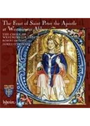 (The) Feast of St Peter the Apostle at Westminster Abbey (Music CD)