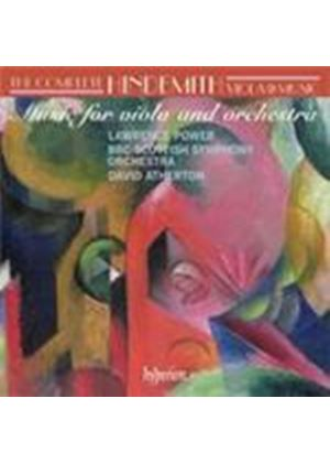 Hindemith: Viola and Orchestra Works (Music CD)