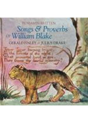 Britten: Songs & Proverbs of William Blake (Music CD)
