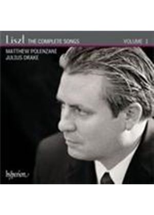 Liszt: Complete Songs Vol 1 (Music CD)