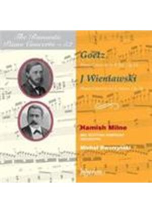 Goetz: Piano Concerto No 2; Wieniawski: Piano Concerto (Music CD)