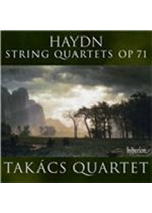 Haydn: String Quartets, Op. 71 (Music CD)