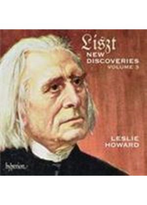 Liszt: New Discoveries, Vol 3 (Music CD)