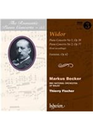 Romantic Piano Concerto, Vol. 55: Widor (Music CD)