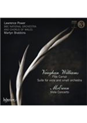 Vaughan Williams: Flos Campi; Suite for Viola; McEwen: Viola Concerto (Music CD)