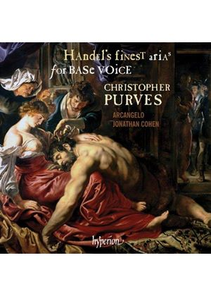 Handel's finest arias for Base Voice (Music CD)