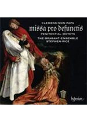 Clemens Non Papa: Requiem; Penitential Motets (Music CD)