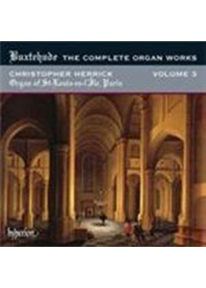 Buxtehude: (The) Complete Organ Works, Vol 3 (Music CD)
