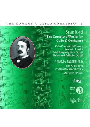 Romantic Cello Concerto, Vol. 3: Stanford (Music CD)