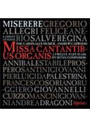 Allegri's Miserere and the Music of Rome (Music CD)