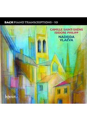 Bach: Piano Transcriptions, Vol. 10 - Camille Saint-Saëns, Isidore Philipp (Music CD)