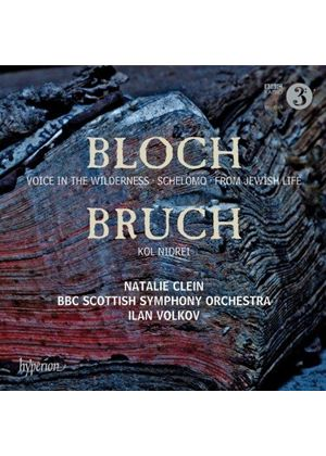 Bloch: Voice in the Wilderness; Schelomo; From Jewish Life; Bruch: Kol Nidrei (Music CD)
