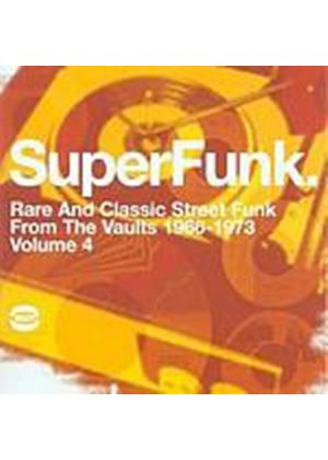 Various Artists - Super Funk Vol. 4 (Music CD)
