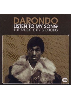 Darondo - Listen to My Song (The Music City Sessions) (Music CD)