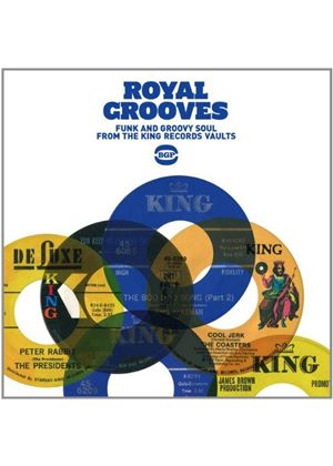 Various Artists - Royal Grooves ~ Funk And Groovy Soul From The King Records Vaults (Music CD)