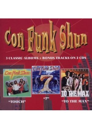 Con Funk Shun - Touch / Seven / To The Max (Music CD)