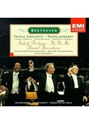 Perlman/Bp/Barenboim - Beethoven/Triple Concerto (Music CD)