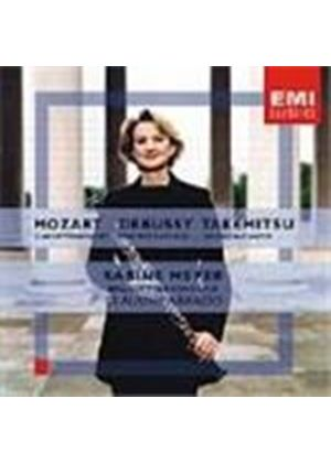 Mozart/Debussy/Takemitsu: Works for Clarinet & Orchestra