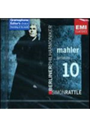 Gustav Mahler - Symphony No 10 (Rattle, Berlin SO) (Music CD)