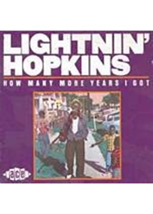 Lightnin Hopkins - How Many More Years (Music CD)