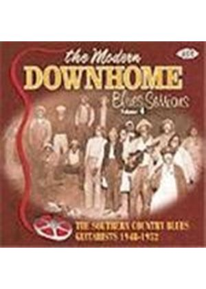 Various Artists - Modern Downhome Blues Sessions Vol.4, The (The Southern Country Blues Guitarists 1948-1952)