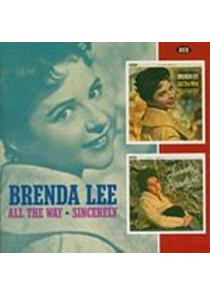Brenda Lee - All The Way/Sincerely Brenda Lee (Music CD)