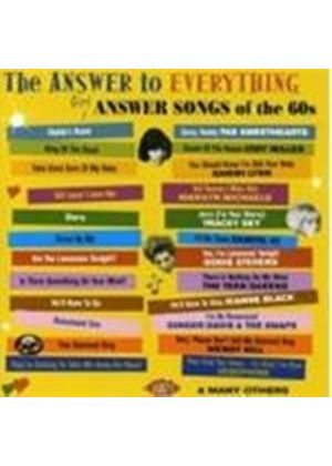 Various Artists - The Answer To Everything - Girl Answer Songs Of The 60s (Music CD)