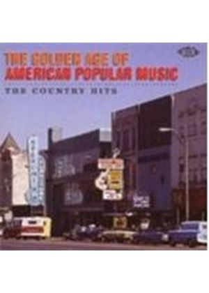 Various Artists - The Golden Age Of American Popular Music: The Country Hits (Music CD)