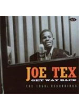 Joe Tex - Get Way Back - The 1950s Recordings